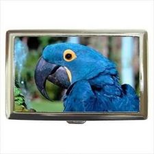 Buy Hyacinth Macaw Cigarette Money Credit Business Card Case