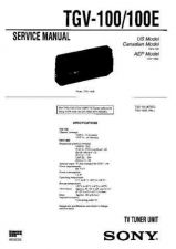 Buy Sony TGV-7-7E Service Manual. by download Mauritron #245554