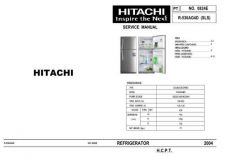Buy Hitachi R-530AG4D (SLS) Service Manual by download Mauritron #263948