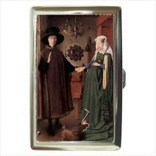 Buy Arnolfini Wedding Jan Van Eyck Art Cigarette Money Card Case