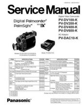 Buy Panasonic MKE0602400SE Service Manual by download Mauritron #267940