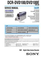 Buy Sony DCR-PC115PC115EPC120BTPC120E Service Manual by download Mauritron #239637