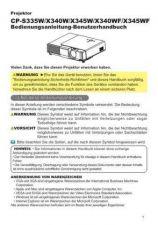 Buy Hitachi CP-S240WF DE Manual by download Mauritron #224664