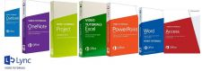 Buy LEARN MICROSOFT OFFICE: WORD OUTLOOK ONENOTE PROJECT POWERPOINT EXCEL LYNC ACCE