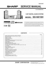 Buy Sharp SDNX10H Service Manual by download Mauritron #210441