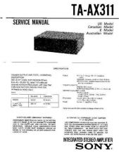 Buy Sony TA-AX401 Service Manual. by download Mauritron #245240