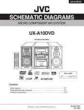 Buy JVC UX-A10DVD sch Service Manual by download Mauritron #220741