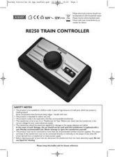 Buy Hornby R8250 Train Controller Information by download Mauritron #207204