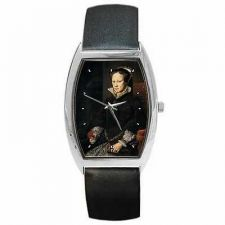 Buy Queen Mary Tudor of England 1554 Portrait Art Wrist Watch
