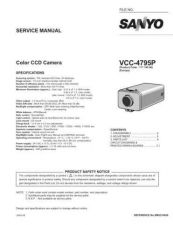 Buy Fisher. Service Manual For VCC-4795P by download Mauritron #217494