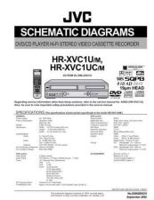 Buy JVC HR-XVC1UM SCHEM SERVICE MANUAL by download Mauritron #220257