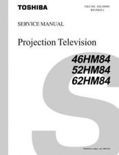 Buy TOSHIBA 46HM84 62HM 52HM SERVICE Manual by download Mauritron #230526
