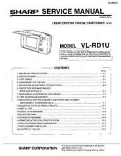 Buy Sharp VLA111767 Service Manual by download Mauritron #210715