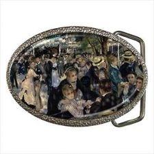 Buy Moulin De La Galette Renoir Fine Art Unisex Belt Buckle