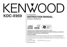Buy Kenwood KDC-X959 by download Mauritron #222409