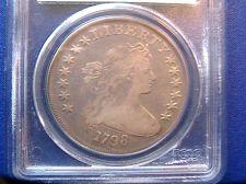 Buy 1798 DRAPED BUST DOLLAR $1 HERALDIC EAGLE PCGS VG10 OGH UNDERGRADED* RE-GRADE?