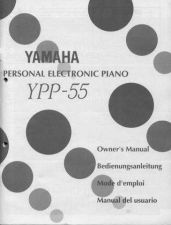 Buy Yamaha YPP55E Operating Guide by download Mauritron #250354