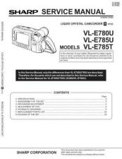 Buy Sharp VLH400H-013 Service Manual by download Mauritron #210828
