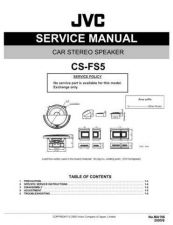 Buy JVC CS-GD4300 Service Manual Schematic Circuit. by download Mauritron #270188