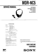 Buy Sony MDR-NC5 Service Manual. by download Mauritron #242604