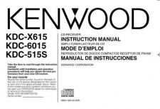 Buy Kenwood KDC-X617 Operating Guide by download Mauritron #219110