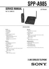 Buy Sony SPP-AQ25 Service Manual. by download Mauritron #244425