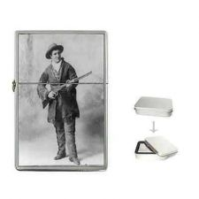 Buy Calamity Jane Western Hero Cigarette Flip Top Lighter