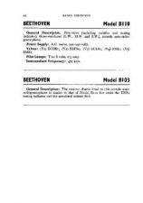 Buy BEETHOVEN B110 SERVICE by download #105422