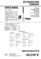 Buy Sony SS-CT360CT560RC360. Service Manual. by download Mauritron #244726