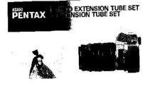 Buy PENTAX AUTO EXTENSION TUBE SET CAMERA INSTRUCTIONS by download #119010