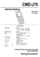 Buy Sony CMD-J70 Technical Info by download #104696
