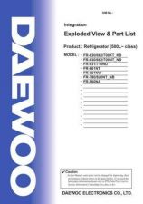 Buy Daewoo EVPL500001 Manual by download Mauritron #226029