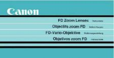 Buy CANON FDZOOMLENSES FD CAMERA INSTRUCTIONS by download #118446