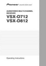 Buy Pioneer 50205 Operating instructions VSX-D712 2003411109256900 by download Maur