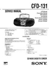 Buy Sony CFD-14 Service Manual by download Mauritron #238685