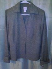 Buy Women's Dorby Dressy Jacket With Cuffed Sleeves Size 12