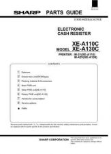 Buy Sharp XE-A101 Parts Technical Information by download Mauritron #233070