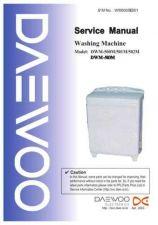 Buy Daewoo. WM500SE001. Manual by download Mauritron #214065