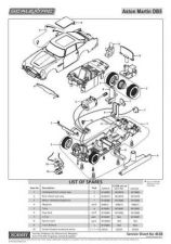Buy Scalextrix No.463B Aston Martin DB5 Service Sheets by download Mauritron #20664