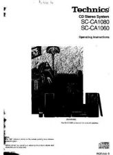Buy Panasonic SCCA1080 Operating Instruction Book by download Mauritron #236417