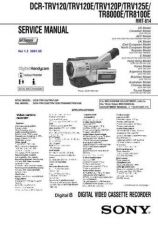 Buy Sony DCR-TRV33-TRV33E-6 Service Manual by download Mauritron #239812
