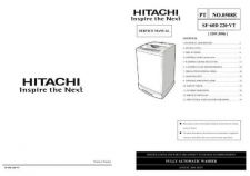 Buy Hitachi SF-60D 220-VT Service Manual by download Mauritron #264150
