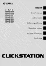 Buy Yamaha CLICKSTATION EN Operating Guide by download Mauritron #247053