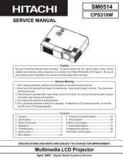 Buy Hitachi 0514E Manual by download Mauritron #224990