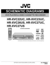 Buy JVC HR-XVC27UM SCH SERVICE MANUAL by download Mauritron #220260