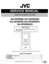 Buy JVC XA-HD500SE by download Mauritron #273017