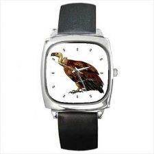 Buy Vulture Bird Of Prey Unisex Square Wrist Watch New