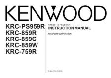 Buy Kenwood KRC-759R Operating Guide by download Mauritron #222687