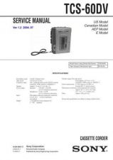 Buy Sony TGV-100-100E Service Manual. by download Mauritron #245553