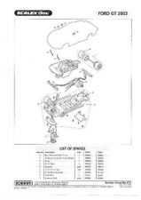 Buy Scalextrix No.371 Ford GT 2003 Service Sheets by download Mauritron #206504